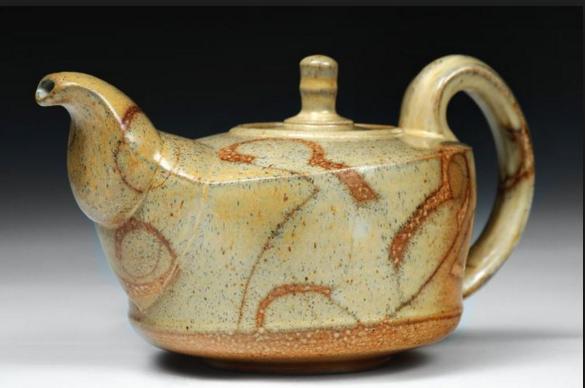 2018 Jan presenter Joan Ulrich teapot