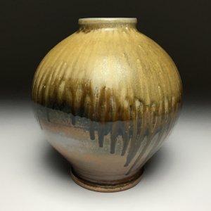 Wood fired Jar by Tim Sherman