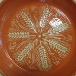 Carved Wheat Bowl